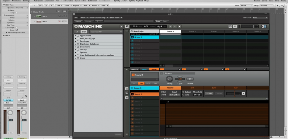 Altruwisdom: Sampling in Logic Pro Using Maschine