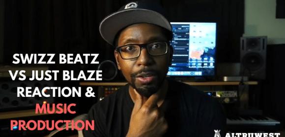 Swizz Beatz vs Just Blaze Reaction & Music Production (Live Stream)