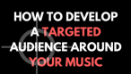 How to Develop a Targeted Audience Around Your Music as an Indie Musician