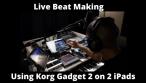 Boom Bap West Coast Style Live Beat Making w/ Korg Gadget 2 by J. Myracks